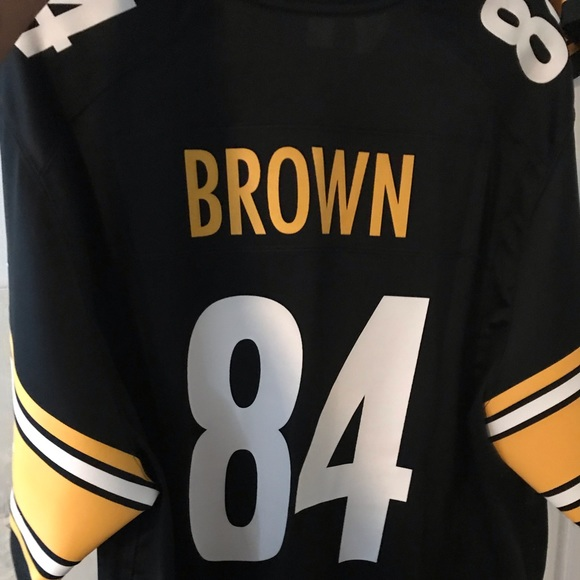 best sneakers 53344 c38b7 Pittsburgh Steelers Antonio Brown Football Jersey